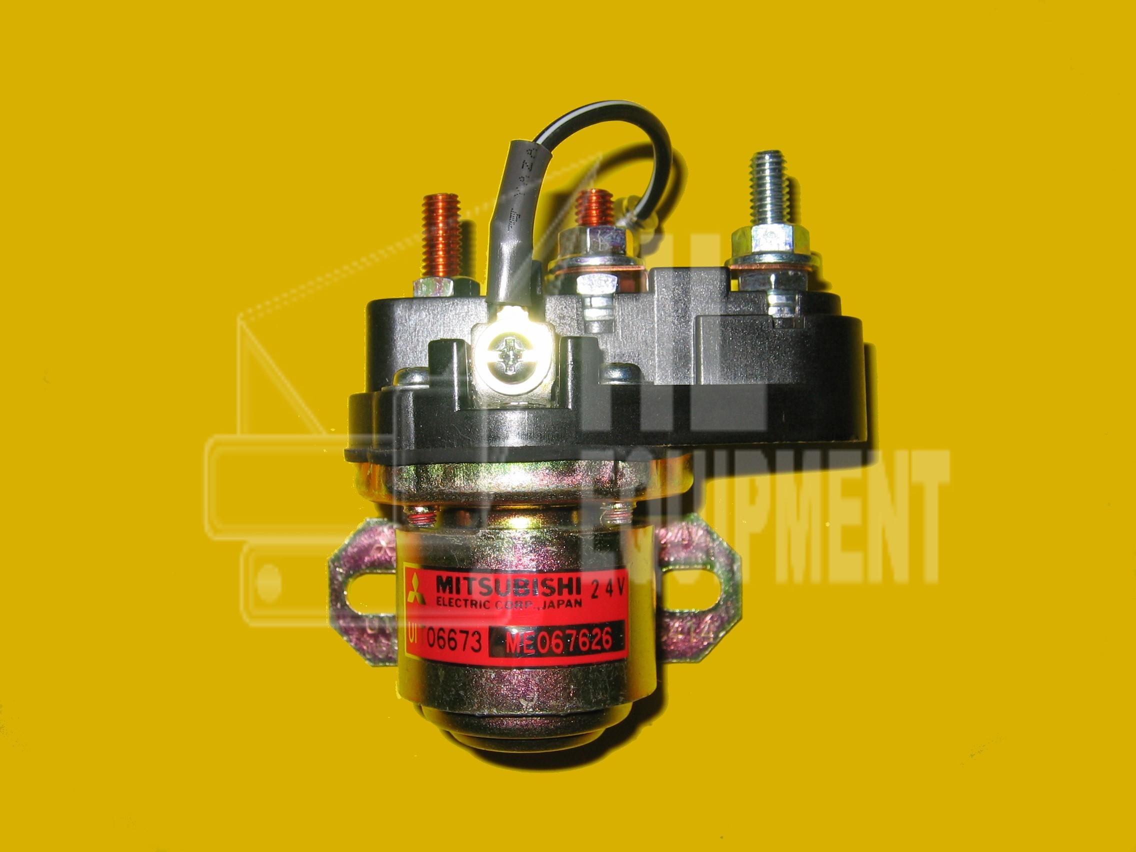 Mitsubishi Crane Spare Parts : Mitsubishi relay crane parts