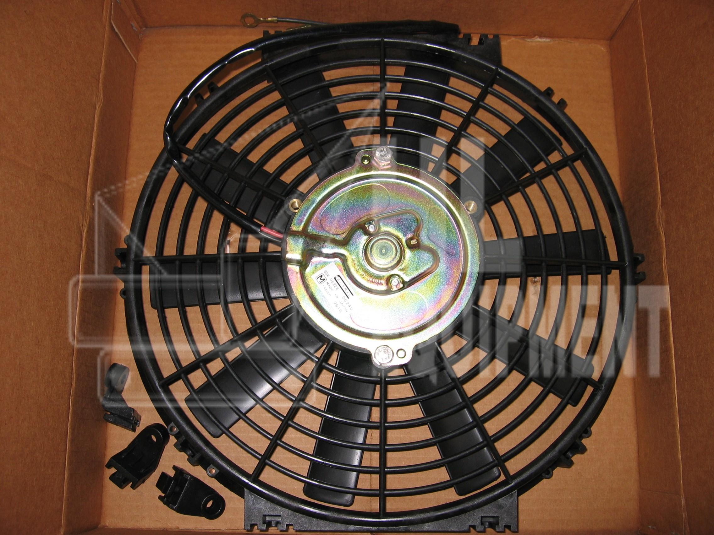 Operator Cabin Fan
