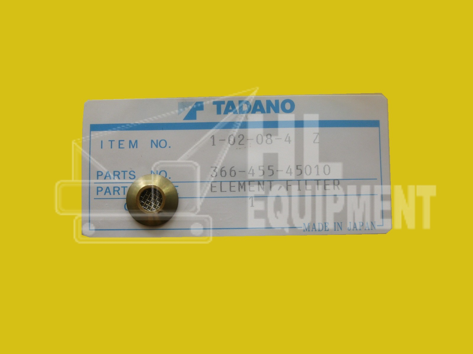 Tadano Filter Element