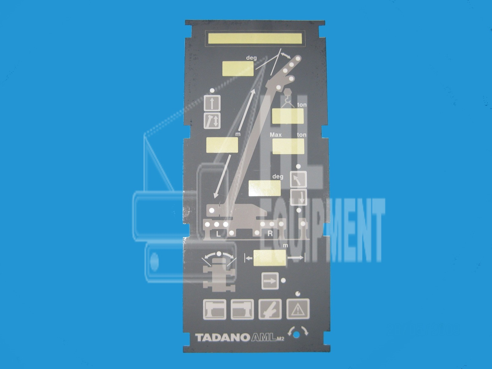 Tadano Panel Cover